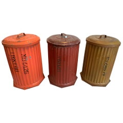 Witt Cornice Co. Pigment Storage Bins with Lids