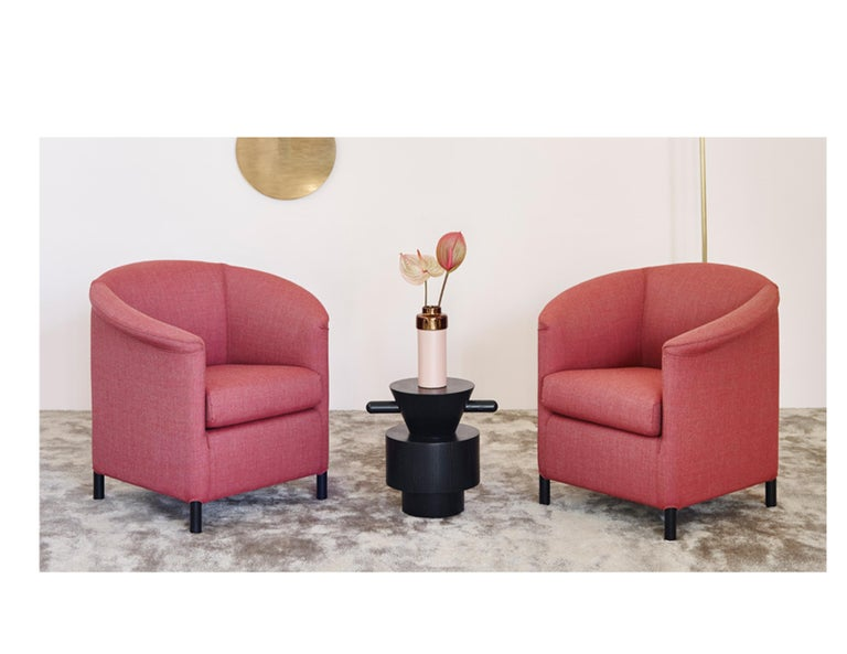 Austrian Wittmann Aura Leather Armchair Designed by Paolo Piva For Sale