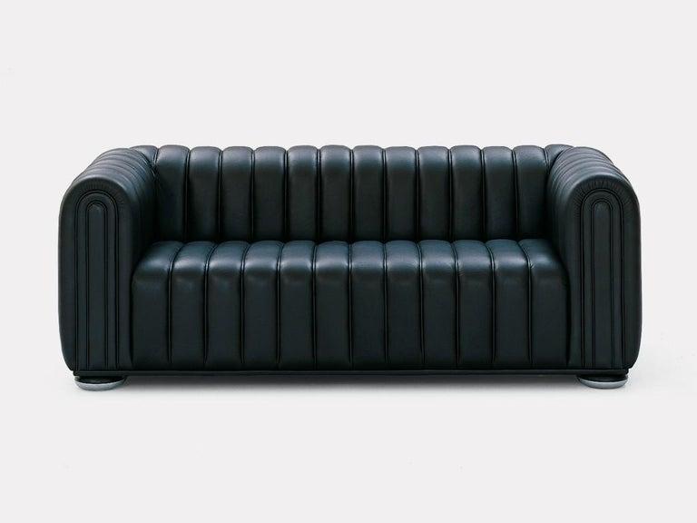 Austrian Wittmann Club 1910 Leather Lounge Chair Designed by Josef Hoffmann For Sale