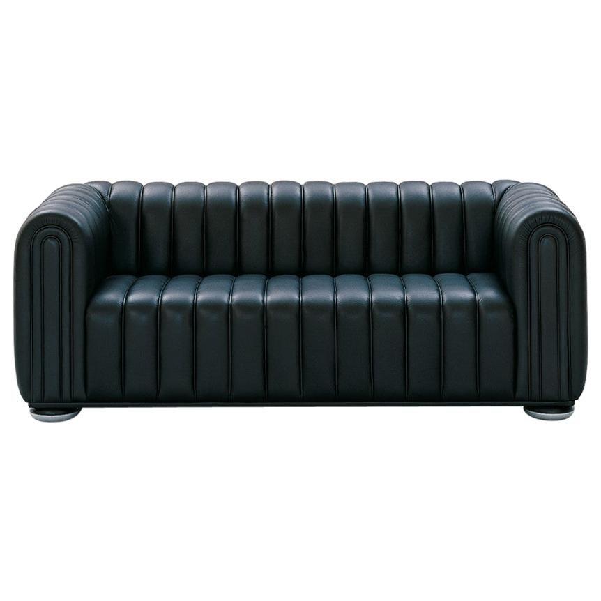 Wittmann Club 1910 Leather Lounge Chair Designed by Josef Hoffmann