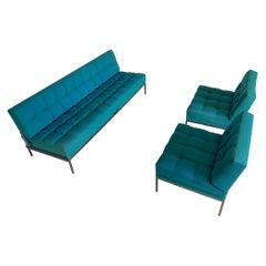 Wittmann Constanze Tufted Midcentury Sofa & Chairs by J. Spalt, 1970s, Austria