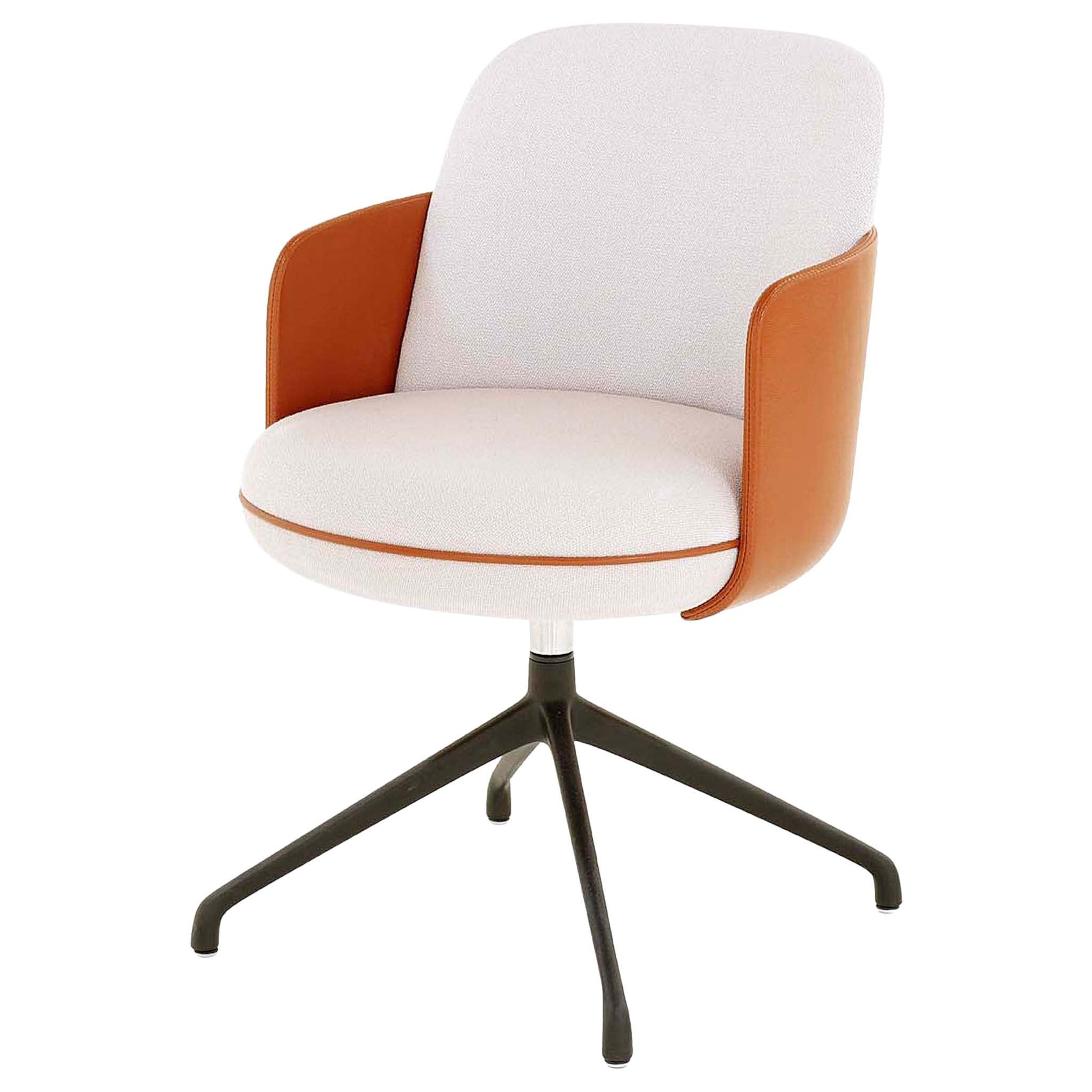 Wittmann Merwyn Swivel Chair Designed by Sebastian Herkner