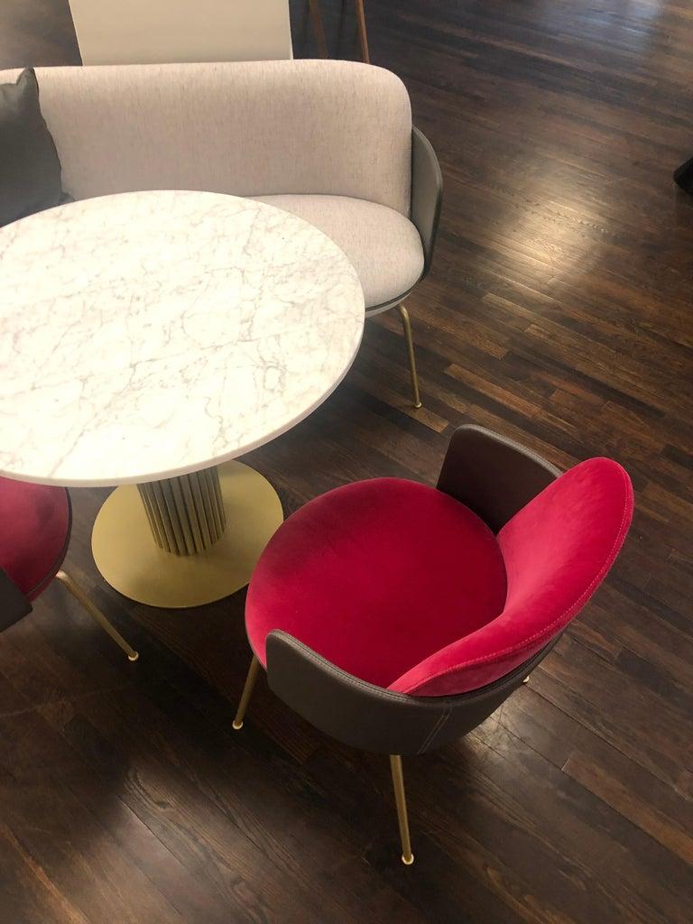 Wittmann Merwyn Armchairs, Sofa Bench and Miles Table by Sebastian Herkner For Sale 1