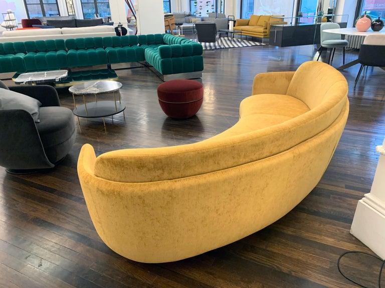 Sebastian Herkner Miles Curved Sofa by Wittmann For Sale 1