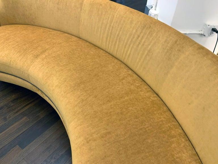 Sebastian Herkner Miles Curved Sofa by Wittmann For Sale 2