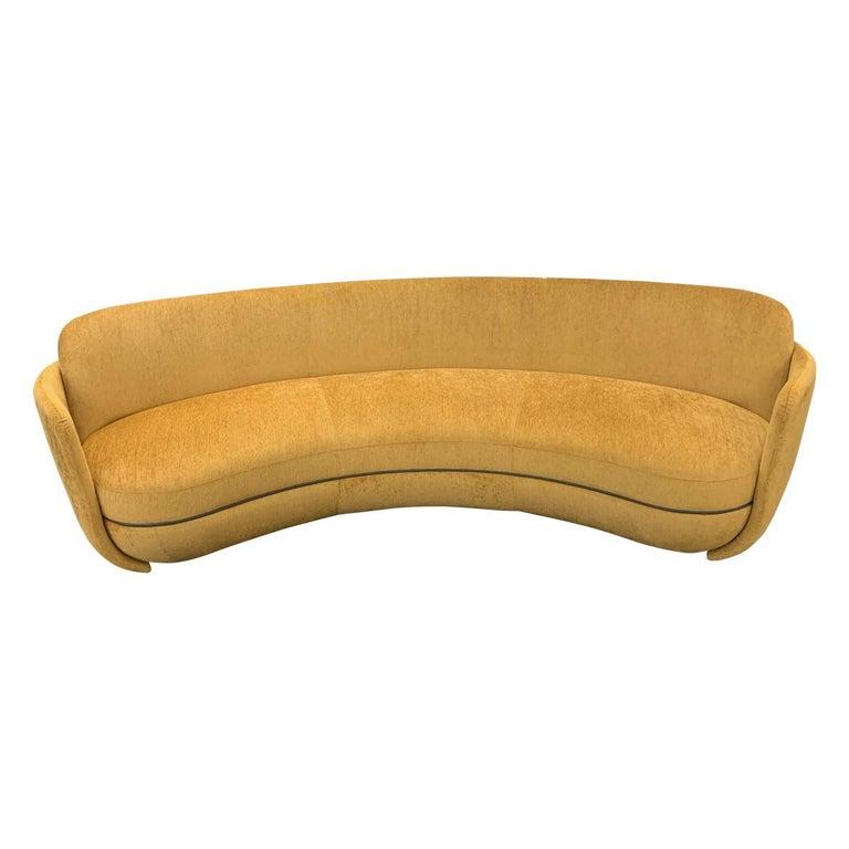 Sebastian Herkner Miles Curved Sofa by Wittmann For Sale