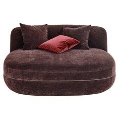 Wittmann Miles Pouf Lounge Designed by Sebastian Herkner