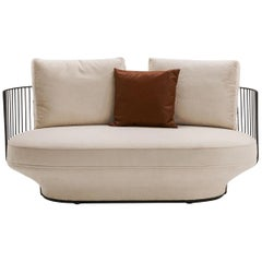 Wittmann Paradise Bird Sofa Designed by Luca Nichetto