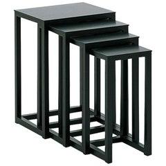 Wittmann Satztische Nesting Tables Designed by Josef Hoffmann