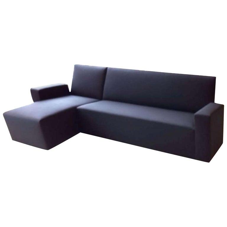 Black Wittmann Vienna Sectional Sofa For Sale