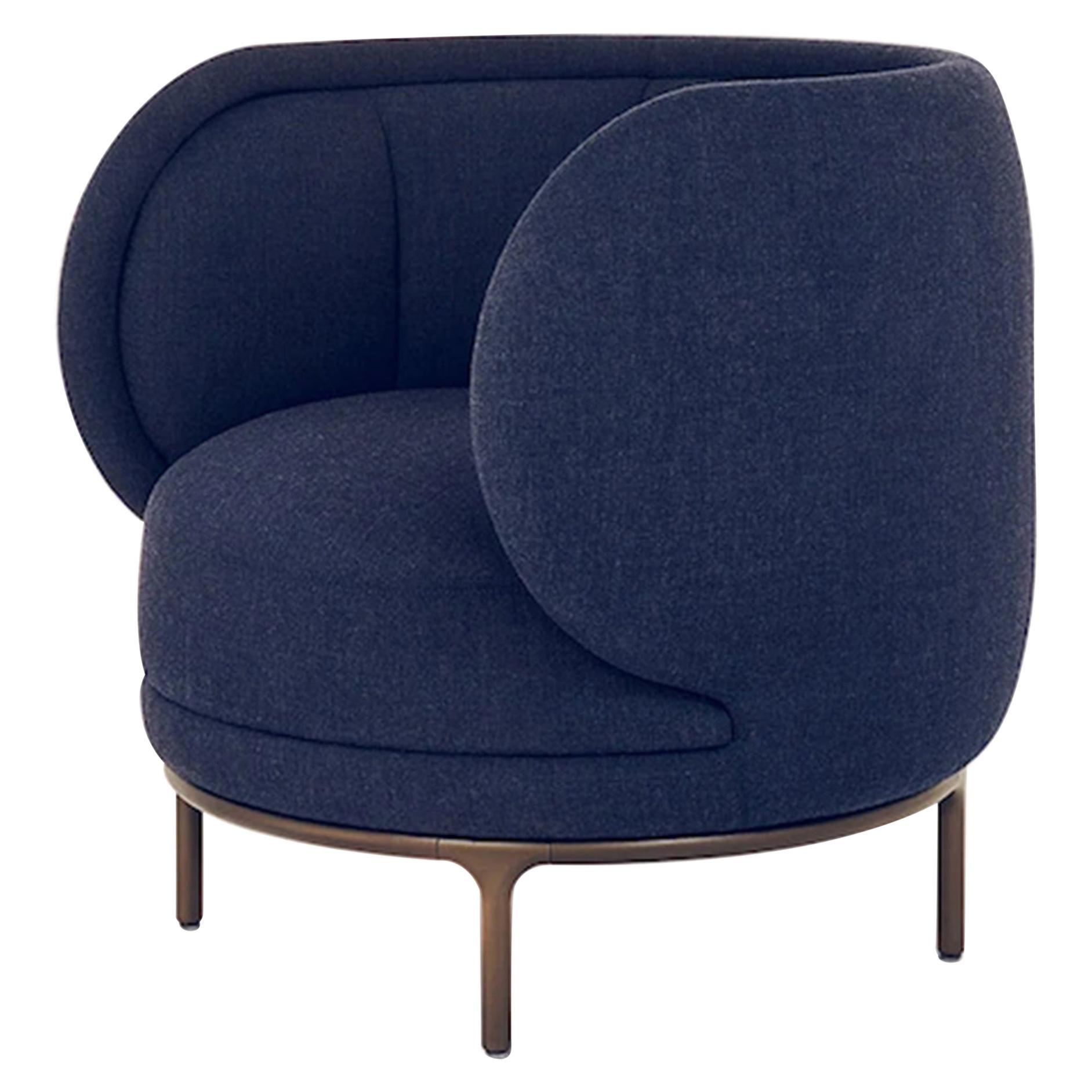 Wittmann Vuelta Swivel Lounge Armchair Designed by Jaime Hayon