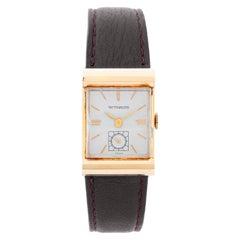 Wittnauer 14 Karat Yellow Gold Vintage Watch