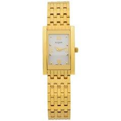 Wittnauer Ovation Collection 23 Karat Gold Finish Steel Ladies Watch 11L09