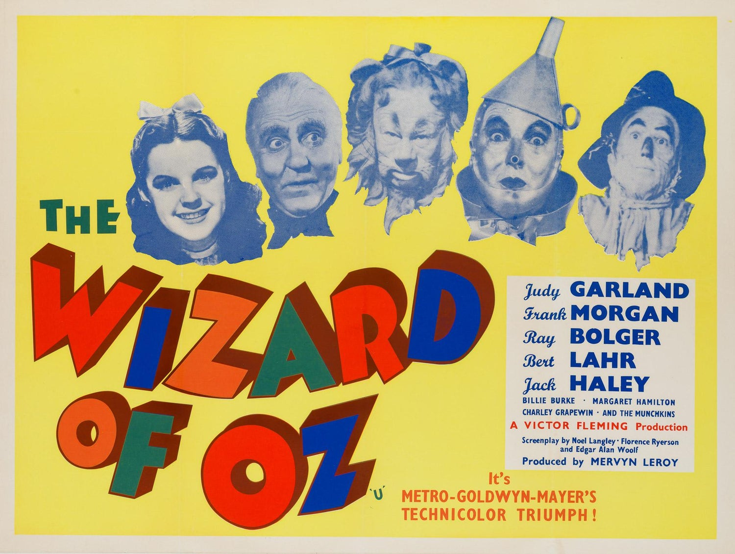 Image result for the wizard of oz poster