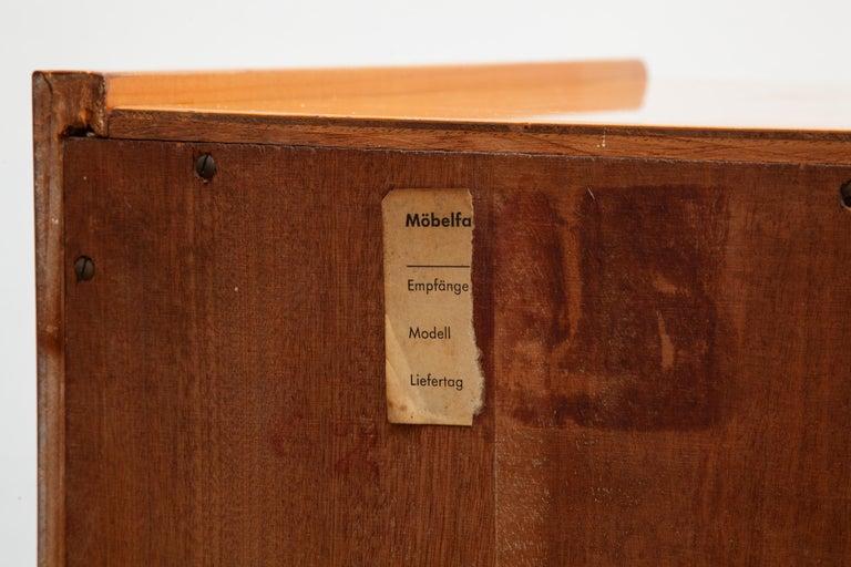 German WK Möbel Sideboard, 1960s For Sale