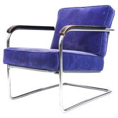 WM1 Lounge Chair Werner Max Moser for Embru Wohnbedarf Zurich, Switzerland, 1939