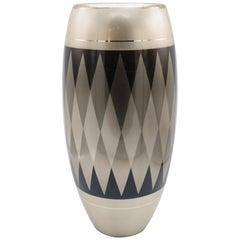 WMF Art Deco Mixed Metal Vase