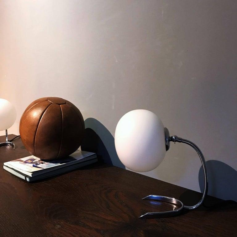 WMF Ikora Horseshoe Art Deco Bedside Lamps, 1930s, Germany For Sale 5