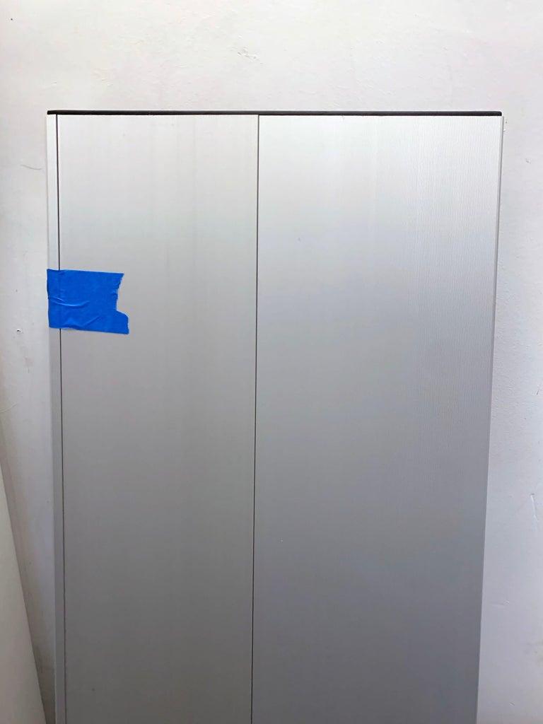 Contemporary Wogg Set of Two Taro Aluminium Wall Shelves For Sale