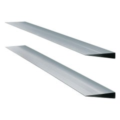 Wogg Set of Two Taro Aluminum Wall Shelves