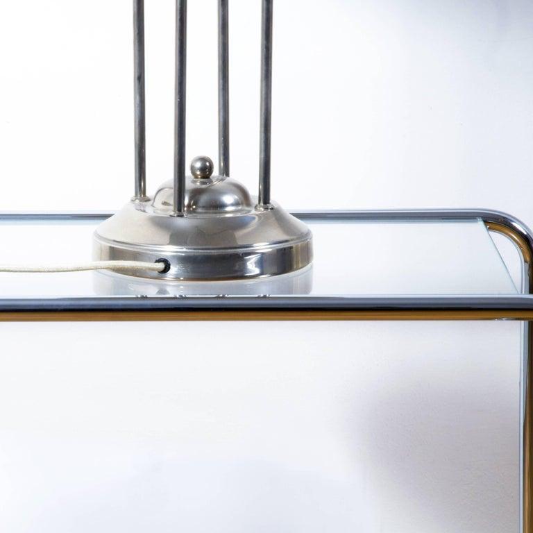 Polished Woka Josef Hoffmann Lamp Design 1900 for Villa Henneberg For Sale