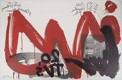 The Scream, 20 TV's - Original handsigned lithograph - Ltd 85 copies (Fluxus)