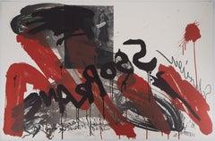 The Scream,  The Soprano - Original handsigned lithograph - Ltd 85 cop (Fluxus)