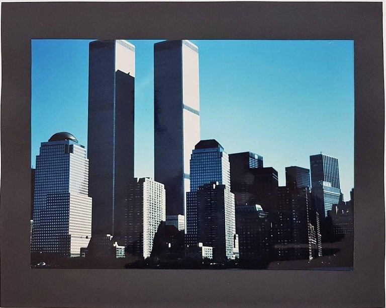 Wolff Buchholz World Trade Center Photograph For Sale
