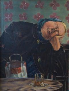 Schlafende Frau (sleeping woman)