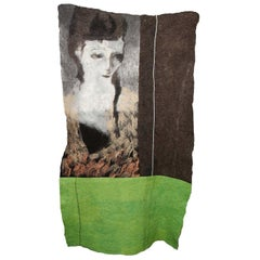 Woman and Nature Tapestry