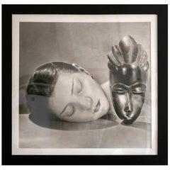 """Nantawang """"African Mask"""", 2010 Hyperrealist Drawing"""