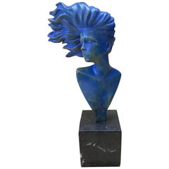 Woman in the Wind Sculpture