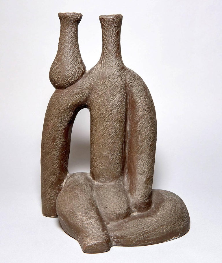 Salvatore Fiume (1915-1997) was a fascinating and relentlessly inventive Italian artist and writer, a larger-than-life figure who worked in a surrealist idiom, creating fantastic painting, sculpture, ceramics and architecture -- often with archaic
