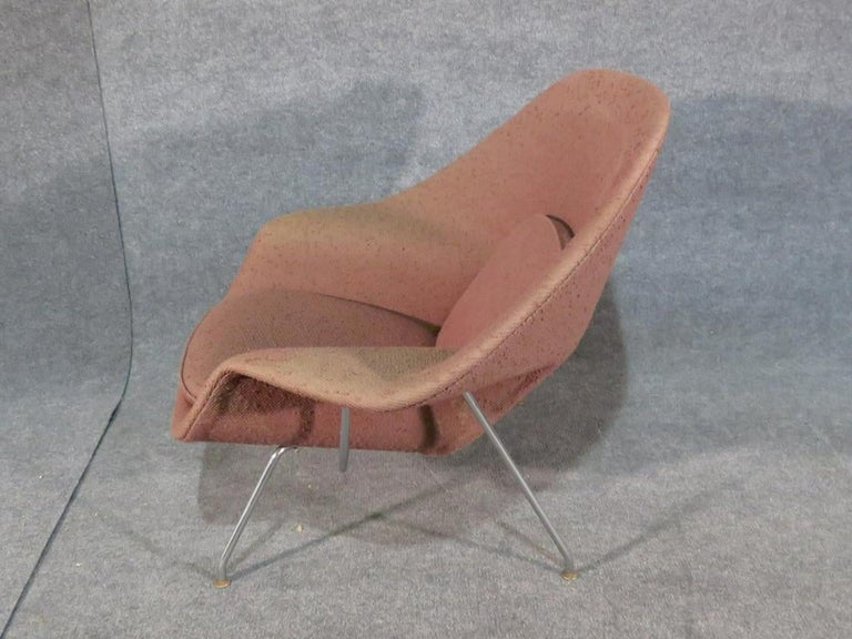 Mid-20th Century Mid-Century Modern Womb Chair by Knoll