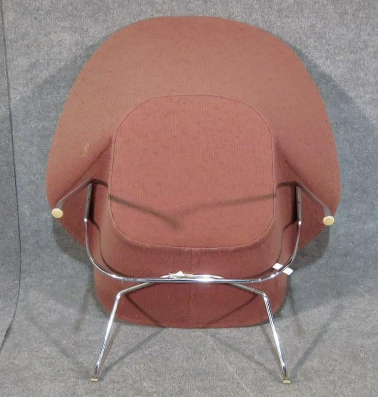 Upholstery Womb Chair by Knoll For Sale