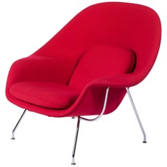 Womb Chair-Knoll Armchair by Eero Saarinen for Knoll
