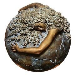Women Earth Sculpture in Bronze