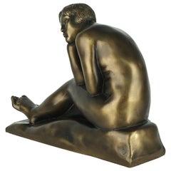 Women Thinking Sculpture in Terracotta