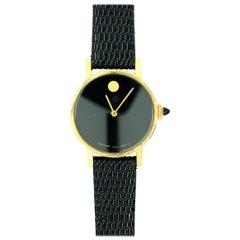 Women's 14 Karat Yellow Gold Movado Watch with Zenith Movement