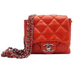WOMENS DESIGNER Chanel 3 Accordian Mini Flap Bag
