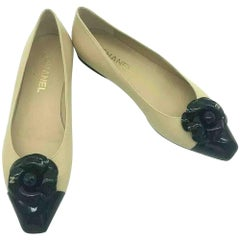 Womens Designer CHANEL Ballet flats - Size 39.5c shoes