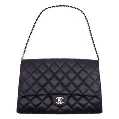WOMENS DESIGNER Chanel Classic Clutch with Chain