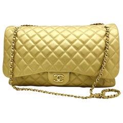 Women's Designer Chanel Classic XXL Travel Flap Bag