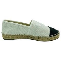 Womens Designer CHANEL Espadrilles Shoes - 36