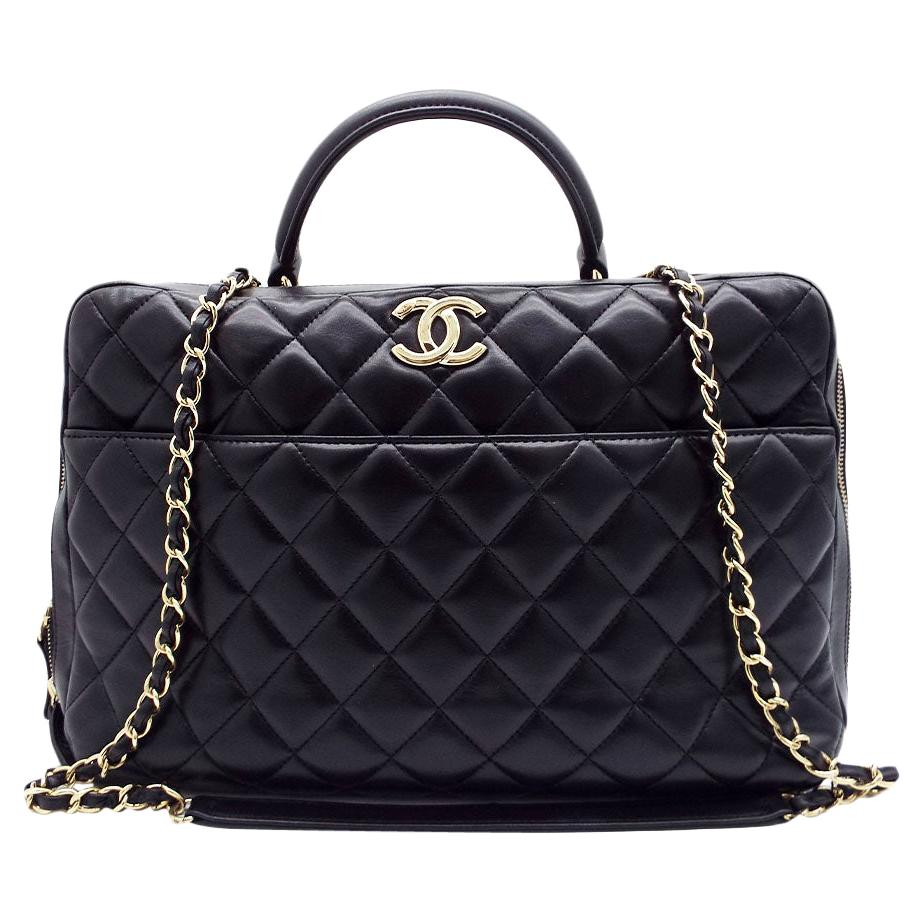 WOMENS DESIGNER Chanel Large Trendy Bowling Bag