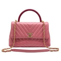 WOMENS DESIGNER Chanel Medium Flap Bag With Top Handle