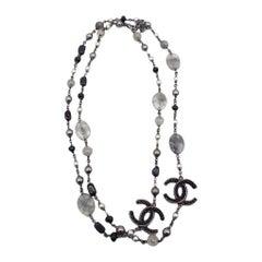 WOMENS DESIGNER Chanel Necklace – Silver