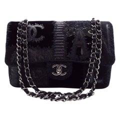 WOMENS DESIGNER Chanel Patchwork Jumbo Flap