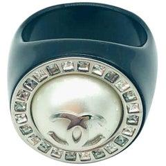 Womens Designer CHANEL Ring - Small