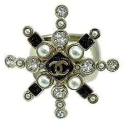 Womens Designer Chanel Star Ring - 54
